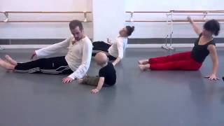 Modern Dancers Let A Baby Lead The Choreography