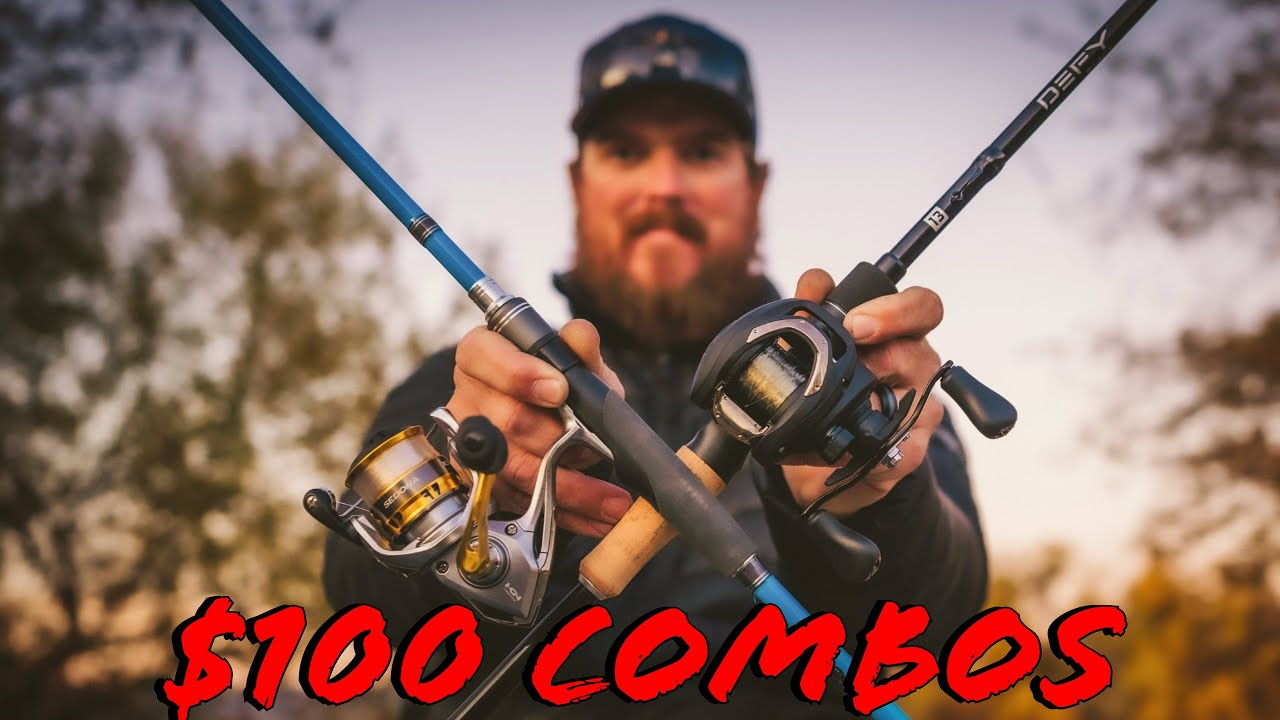 Buyer's Guide: Best Rod And Reel Combos Under $100 - YouTube