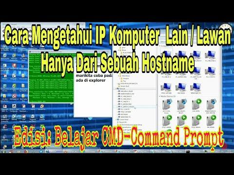 Pada video ini akan dijelaskan cara mengetahui IP address sebuah laptop atau komputer di windows 10..