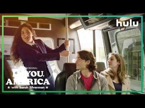 Kate Berlant Leads a tour in Washington, D.C.| I Love You, America on Hulu