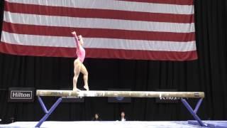 Aly Raisman- Balance Beam - 2016 P&G Gymnastics Championships – Sr. Women Day 1