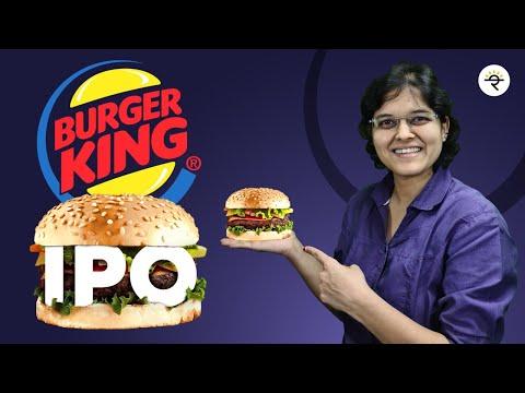 Burger King IPO review by CA Rachana Ranade