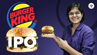 Burger King IPO review by CA Rachana Ranade