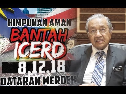 Dr M tells those attending anti-ICERD rally to celebrate democracy, not cause chaos