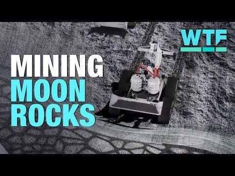 Mining moon rocks to reach deep space | What The Future