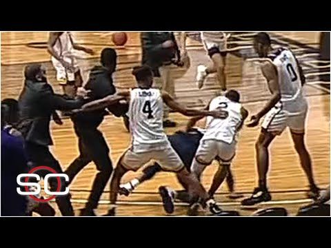 A Brawl Breaks Out During Handshakes Between Jackson State And Prairie View A&M   SportsCenter