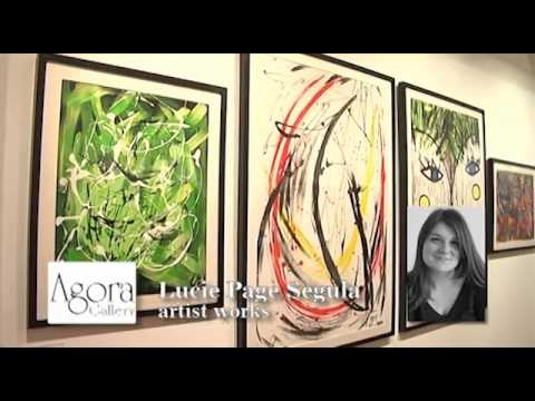 Agora Gallery, Chelsea, NYC, Art Gallery Video. Opening Reception July 7th, 2011.