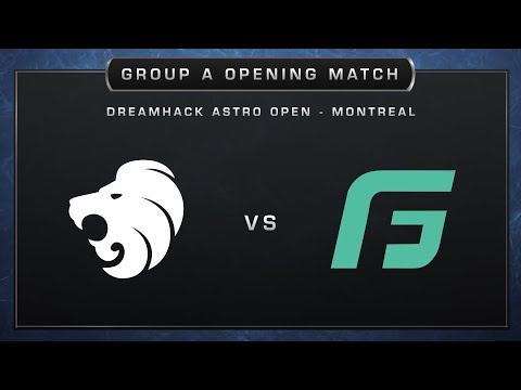 North vs Gale Force - Cobblestone - Group A - DreamHack ASTRO Open Montreal 2017