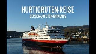 Hurtigruten-Reise Bergen-Kirkenes und Lofoten
