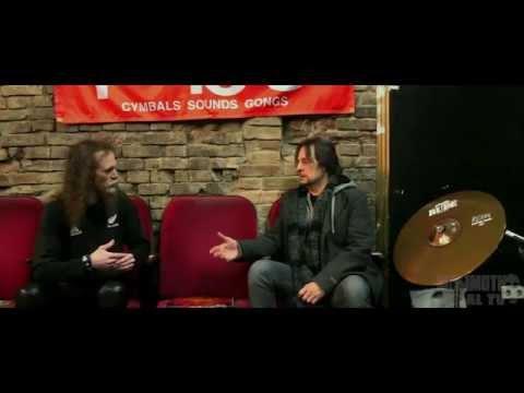 MAMMOTH METAL TV Dave Lombardo Interview (PHILM, Slayer, Grip Inc.,Fantomas.) Berlin  2015