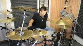 Mika Ronos Drum Cover - Dara Rolins ft. Tomi popovic - Nebe Peklo Ráj