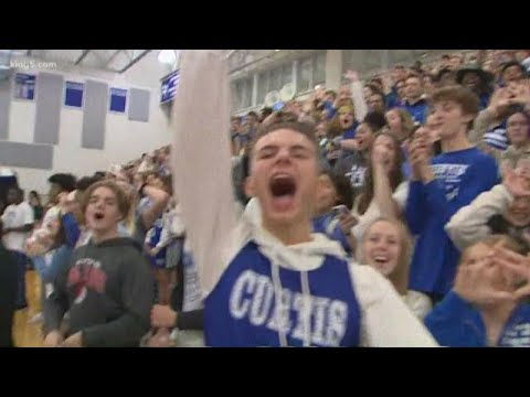 Friday football pep rally: Curtis High School