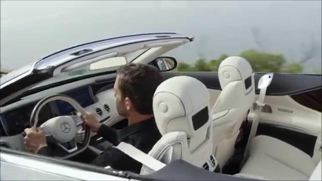 2017 mercedes benz s550 cabriolet interior 02 -  Beautiful Star 2017 Mercedes Benz S 500 Cabriolet Road Trailer Youtube