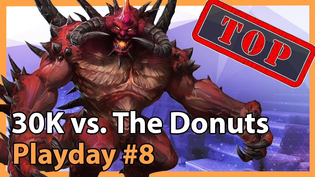 30K vs. The Donuts - MC - Heroes of the Storm 2021