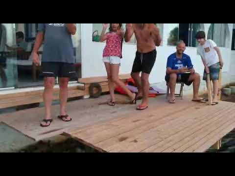 Gravação do Drone. Torres Rio Mampituba