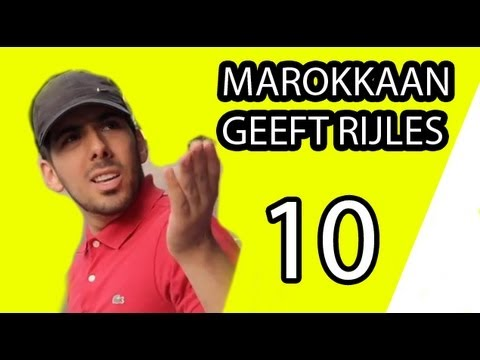 Marokkaan Geeft Rijles Examen (Seizoen 1, Aflevering 10) - Mertabi