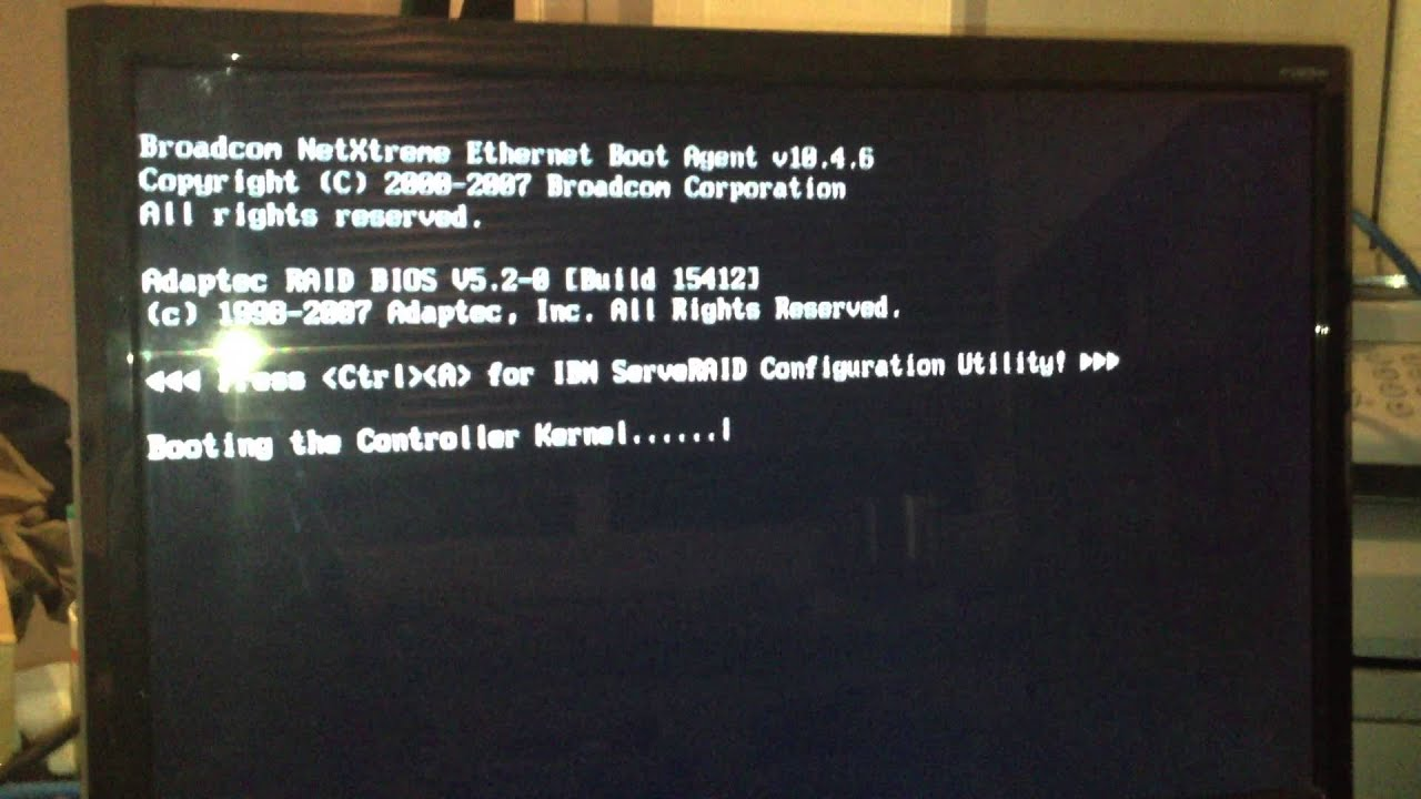 Ibm System X3400 Startup Amp Full Power Youtube