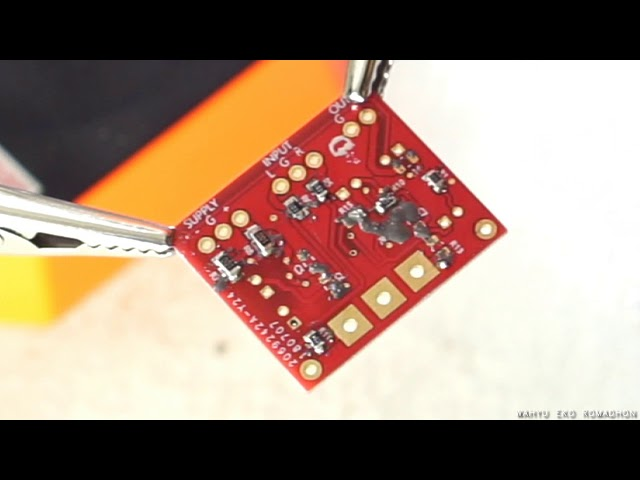 Easy soldering Input Balance 4558 for Power Amplifier