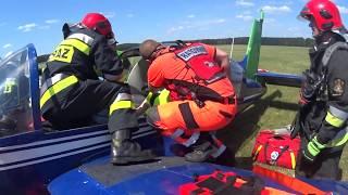 Katastrofa samolotu na lotnisku w Przylepie. Ćwiczyły wszystkie służby