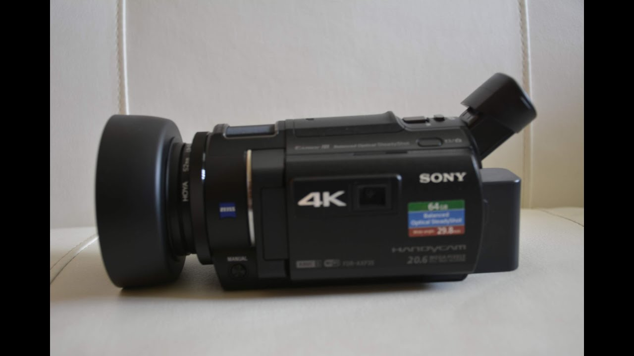 Sony fdr-ax33. This is the newest addition to. Compared to a mirrorless camera or an slr they produce substandard video, so why buy one?. Well, i needed.