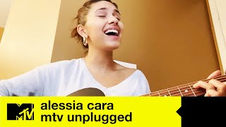 """Alessia Cara - """"Rooting For You"""" / """"October"""" / """"A Little More"""" (LIVE)   MTV Unplugged At Home"""