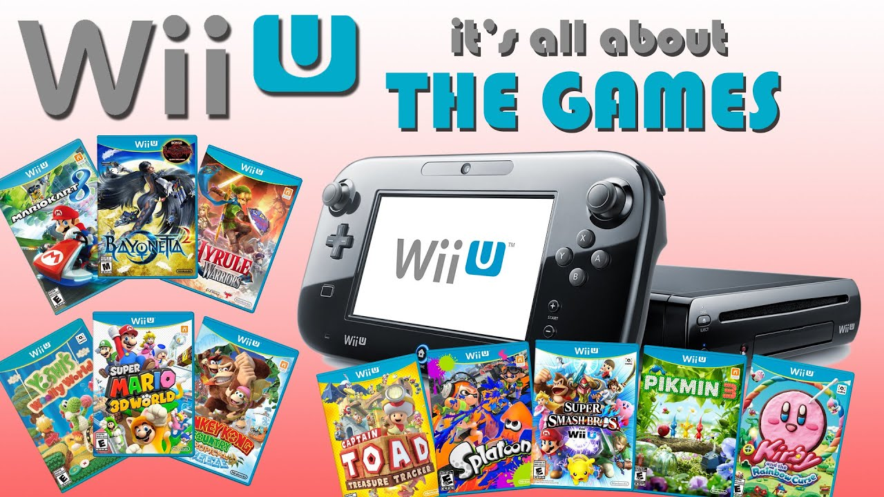 Wii And Wii U Games : Wii u it s all about the games youtube
