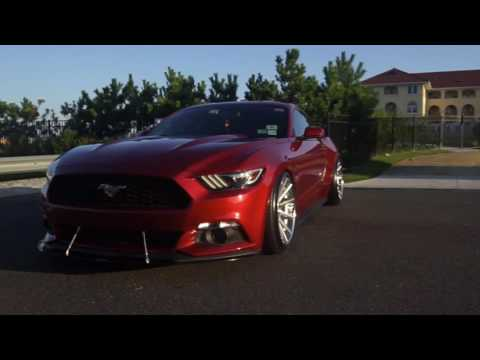 Mark_s550's 2015 Stage III Boost Mustang | Ferrada Wheels || CBRMEDIA