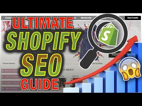 Shopify SEO Optimization Tutorial 2019 For Beginners (FREE TRAFFIC) thumbnail