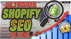 Shopify SEO Optimization Tutorial For Beginners 2020 (FREE TRAFFIC)