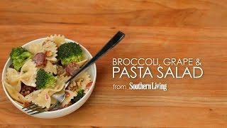 How To Make Broccoli, Grape, And Pasta Salad | Myrecipes