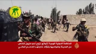 الحكومة العراقية تحشد قواتها على تخوم الموصل