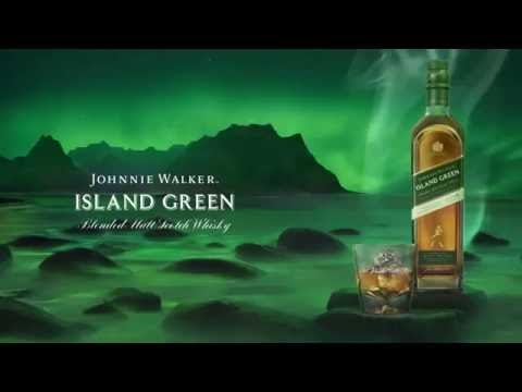 Introducing Johnnie Walker Island Green - A new duty free exclusive Malt Blend from Johnnie Walker