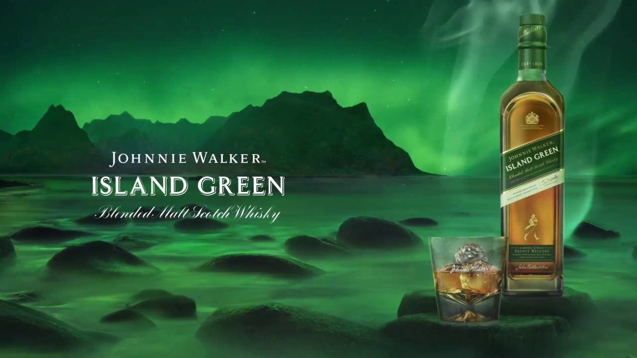 introducing johnnie walker island green a new duty free exclusive