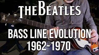 The Beatles Bass Lines Evolution - #12 is too hard!