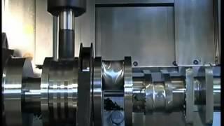 Изготовление коленчатого вала на WFL M60(, 2014-02-14T05:52:17.000Z)