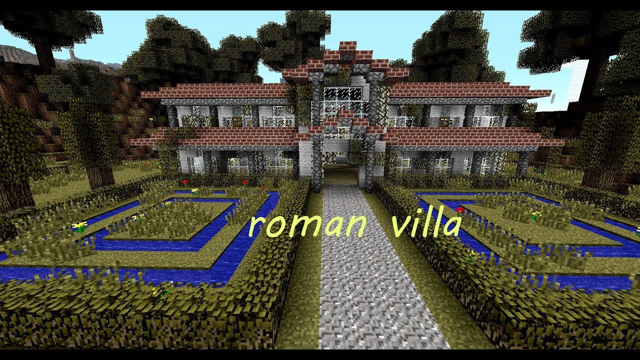 Minecraft r mische villa roman villa download youtube - Minecraft villa ...