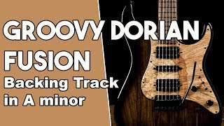 Groovy Dorian Fusion Backing Track in Am