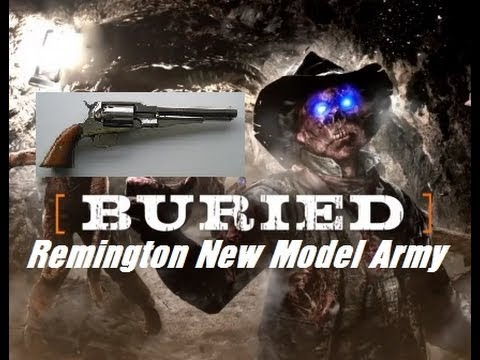 Zombies Buried Remington New Model Pack A Punch