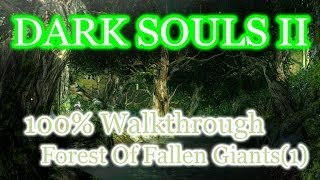 Dark Souls 2 100% Walkthrough # 3 Forest Of Fallen Giants: The Crestfallens Retreat (All Items)