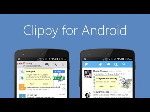 Clippy for Android - YouTube