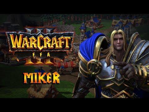 Warcraft III: Reforged FFA с Майкером 03.02.2020