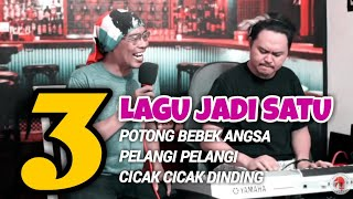 [ Mushup ] 3 Lagu Jadi Satu - Musisi Jenaka Makassar   Cover Parody