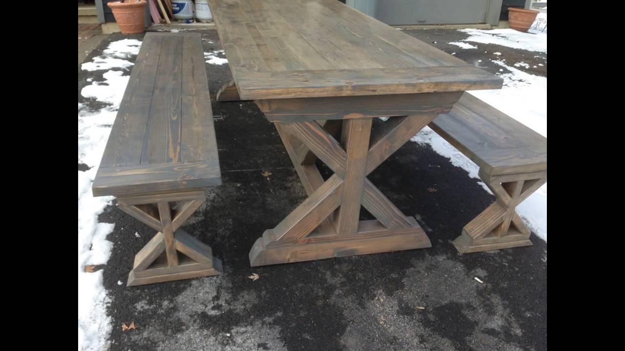 Farmhouse Table X Base
