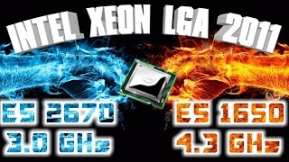 intel xeon e5 2670 3 0 ghz vs e5 1650 4 3 ghz сравнение процессоров huanan 2 46 lga 2011 gtx 1070