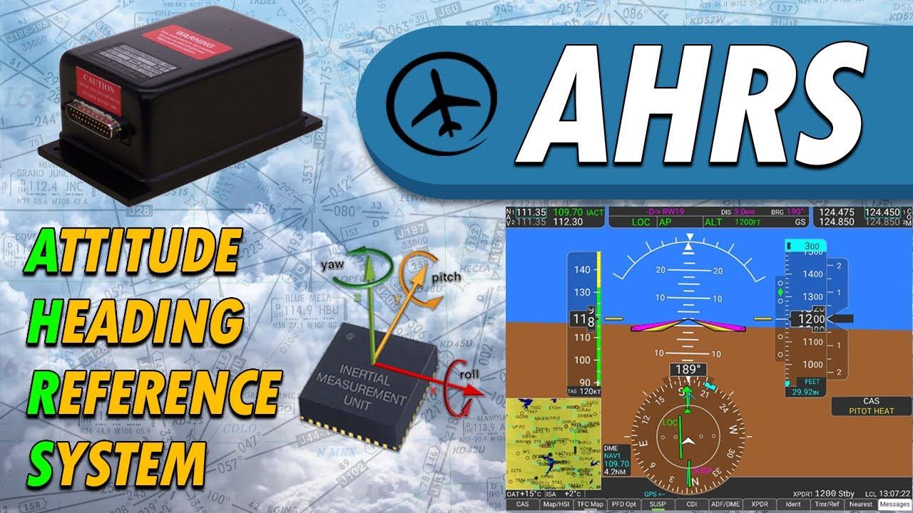 AHRS - Sistema de Referencia de Actitud y Rumbo