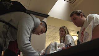 Rutgers students cast a ballot for democracy