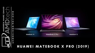 Huawei MateBook 13 Unboxing & Review and Comparison to 2018