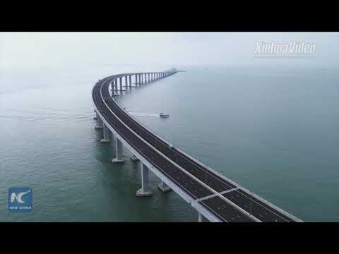 Mega project! Hong Kong-Zhuhai-Macao Bridge ready for launch