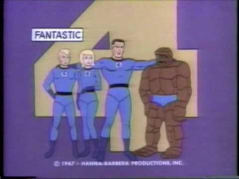 Fantastic Four  cartoon introduction 1967