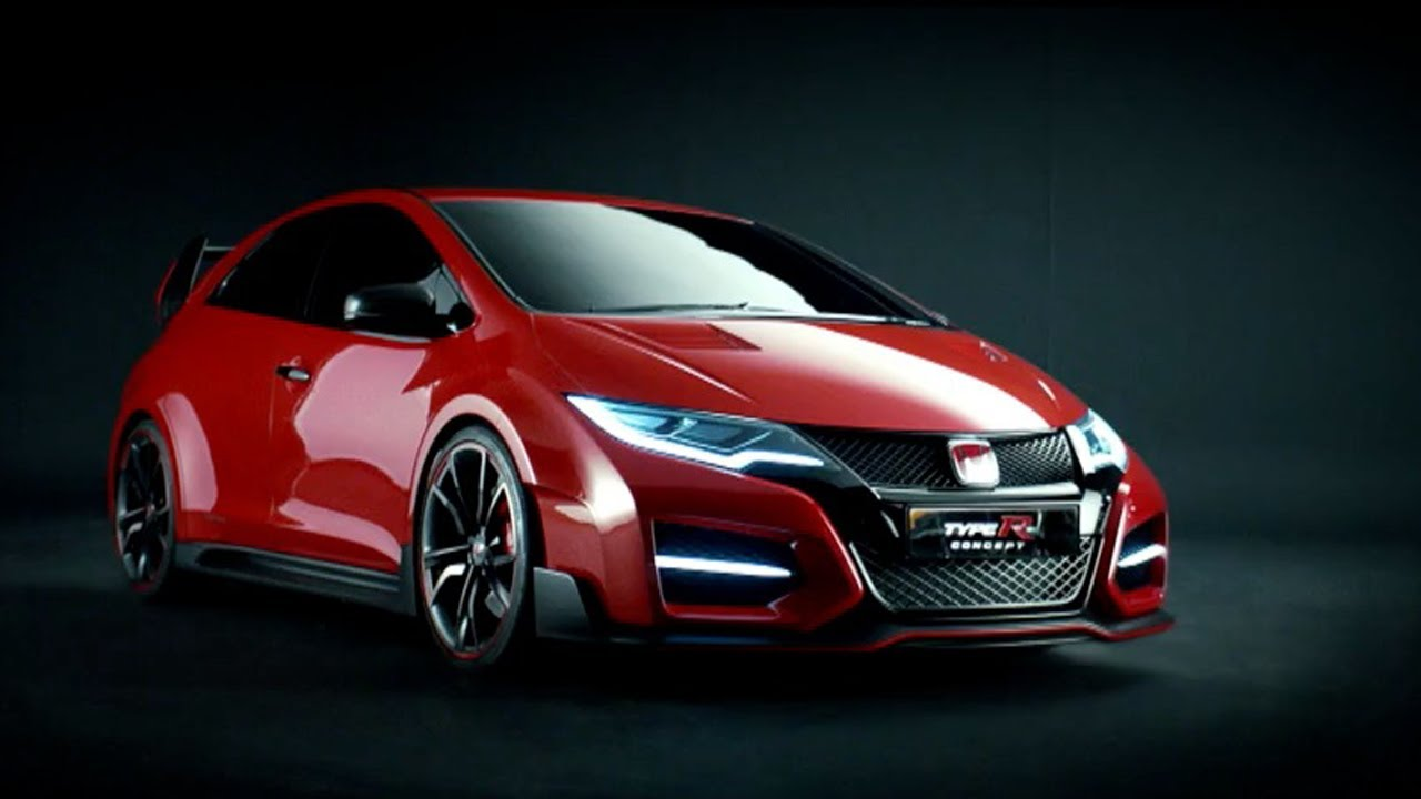 Project Cars Wallpaper Red 2014 Honda Civic Type R Concept Official Trailer Youtube